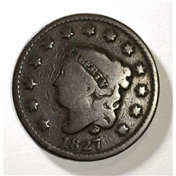 1827 LARGE CENT VG - BETTER DATE