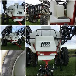 2014 FAST-120' 9524T SUSPENDED BOOM  HIGH CLEARANCE SPRAYER