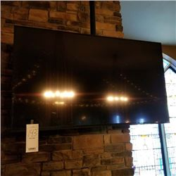 VISIO FLAT SCREEN TV WITH CEILING MOUNT APPROX 70'-80'
