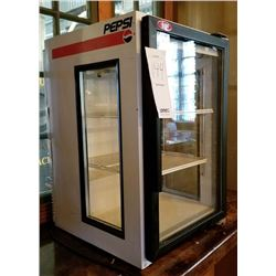 QBD COUNTER SODA COOLER, GLASS FRONT AND SIDES
