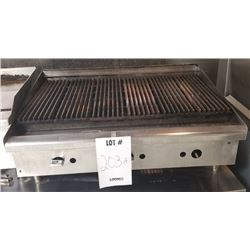 COMMERCIAL STAINLESS GAS GRILLE