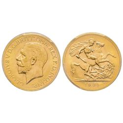 Australia, George V 1910-1936 Sovereign, Perth, 1931 P, AU 7.98 g. 917‰   Ref : Marsh (270), Fr. 40,