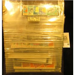 Various Packets of Foreign Stamps, which had a retail value of over $90 twenty years ago. Most are v