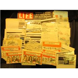 Various Packets of Foreign Stamps, which had a retail value of over $100 twenty years ago. Most are