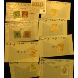 A tremendous group of German Stamps, which Doc has attributed and priced to sell at over $1000.00.