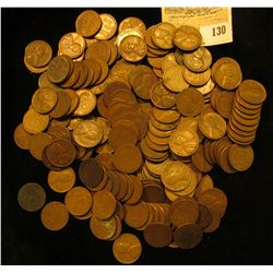 (200) Mixed Date U.S. Wheat Cents.