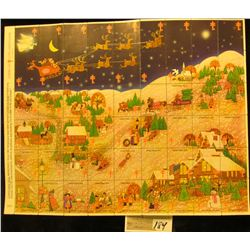 """Mint Sheet of 1976 """"Merry Christmas"""" Stamps/Seals. American Lung Association. (54 stamps)"""