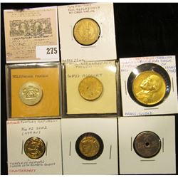 Assorted lot of Tokens.