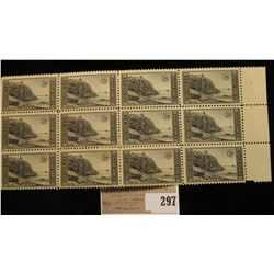 Block of Twelve mint 1935 7c Acadia Park, perforate Stamps issued without gum Scott # 762, VF NH, un