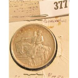 1925 Stone Mountain Commemorative Half Dollar.