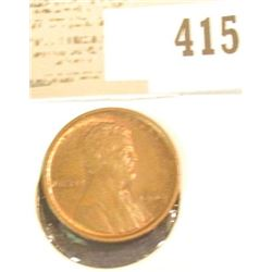 1909 P VDB Lincoln Cent, Red-Brown Uncirculated.
