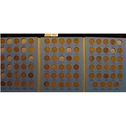 1909 P VDB-40 Partial Set of Lincoln Cents in a blue Whitman folder. Lots of Semi Keys in this group