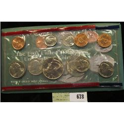 1993 U.S. Mint Set. Original as issued. U.S. Mint issue price was $8.00.