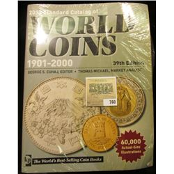 """2012 """"Standard Catalog of World Coins 1901-2000"""" 39th Edition. Hundreds of pages of valuable informa"""
