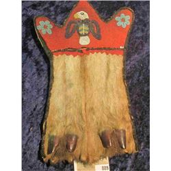 Deer Hoof Medicine Bag used by the Deer Clan (Family) of the Mesquakie Indian. The Deer Clan died ou