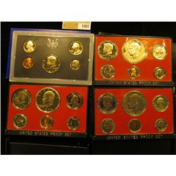 1007 _ 1972 S, 73 S, 74 S, & 75 S U.S. Proof Sets, all original as issued. CDN bid is $25.00.