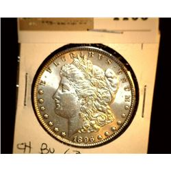 1106 _ 1896 P Morgan Silver Dollar, Choice BU 63