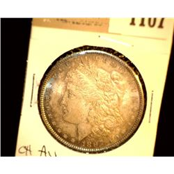 1107 _ 1897 P Morgan Silver Dollar, Choice AU