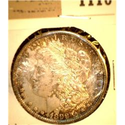 1110 _ 1898 O Morgan Silver Dollar, Choice BU 64