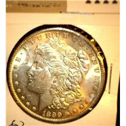 1111 _ 1899 O Morgan Silver Dollar, Choice BU 62