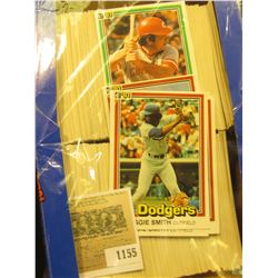 1155 _ Box nearly full of 1991 Donruss Baseball Cards, Mint condition or nearly so. Includes Reggie