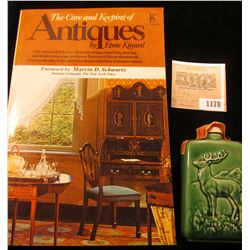 "1178 _ ""The Care and Keeping of Antiques"" by Epsie Kinard; & a miniature ""Beneagles Scotch Whiskey"""