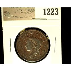 1223 _ 1835 U.S. Large Cent, Good.