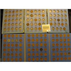 1357 _ 1914-40 Partial Sets & a 1941-76 of Lincoln Cents in a blue Whitman folders.