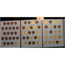 1424 _ 1913-1938 Partial Buffalo Nickel Set. (25) Coins some Grade to VF. In Whitman Coin folder.
