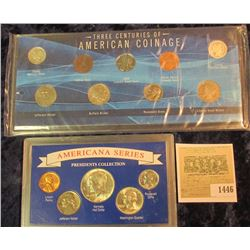 1446 _ Three Centuries of Americcan Coins & Americana Presidents Collection Type Sets.