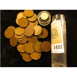 1457 _ Mixed partial Roll of 1931 Lincoln Cents. (38 pcs.).