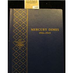 "1458 _ Used and empty Deluxe Whitman Album ""Mercury Dimes 1916-45"". No coins."
