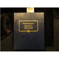 "1472 _ Used and empty Deluxe Whitman Album ""Washington Quarters 1932-1990"". No coins."