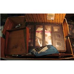 1561 _ Large Box of Old Coin Supplies.