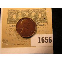 1656 _ 1930 S Lincoln Cent, Brown uncirculated.