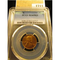 1711 _ 1941 D Lincoln Cent, PCGS slabbed MS65RD