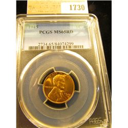 1730 _ 1945 P Lincoln Cent, PCGS slabbed MS65RD