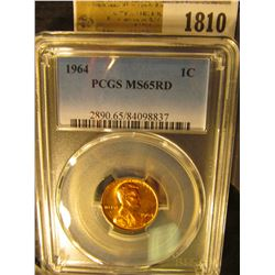 1810 _ 1964 P Lincoln Cent, PCGS slabbed MS65RD.