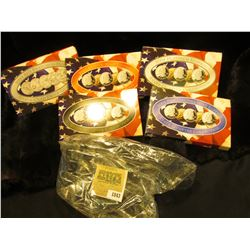 1843 _ 2004 Denver Edition, Philadelphia Edition, San Francisco Mint Clad Proof Set, Platinum Editio