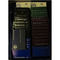 "1845 _ ""Ultimate Proof Set Collection 35 Years 1965-2000"" all stored in a special box with descripti"