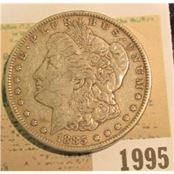 1995 _ 1885 P U.S. Morgan Silver Dollar.