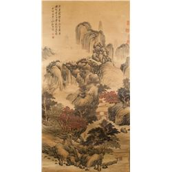 After GAO XIANG Chinese 1688-1753 Watercolor