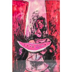Mexican Artist Signed Rufino Tamayo