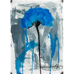 Attr. CY TWOMBLY US 1928-2011 Acrylic on Paper