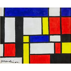Manner of PIET MONDRIAN Dutch 1872-1944 OOC