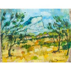 Attr. PAUL CEZANNE French 1839-1906 OOB
