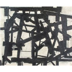 American Oil on Canvas Abstract Franz Kline