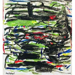 Manner of JOAN MITCHELL American 1925-1992 OOC