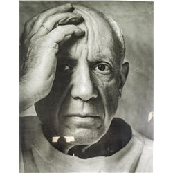 ARNOLD NEWMAN US 1918-2006 Poster Pablo Picasso