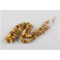 Raw Amber Beads Necklace